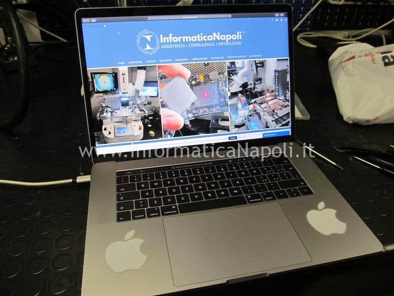 macbook pro 15 a1707 13 a1706 a1708 tastiera sostituita