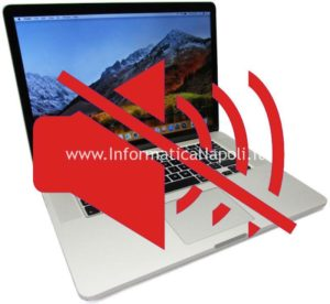 MacBook Pro 15 retina non funziona audio