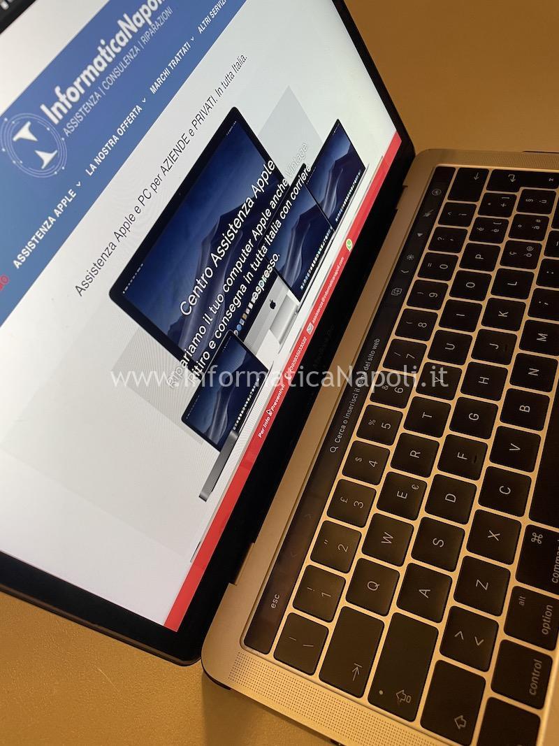 assistenza Apple MacBook pro 13 a1706