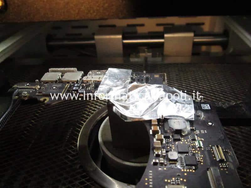 riparazione chip audio cirrus 4208-crz MacBook pro 15 retina A1398