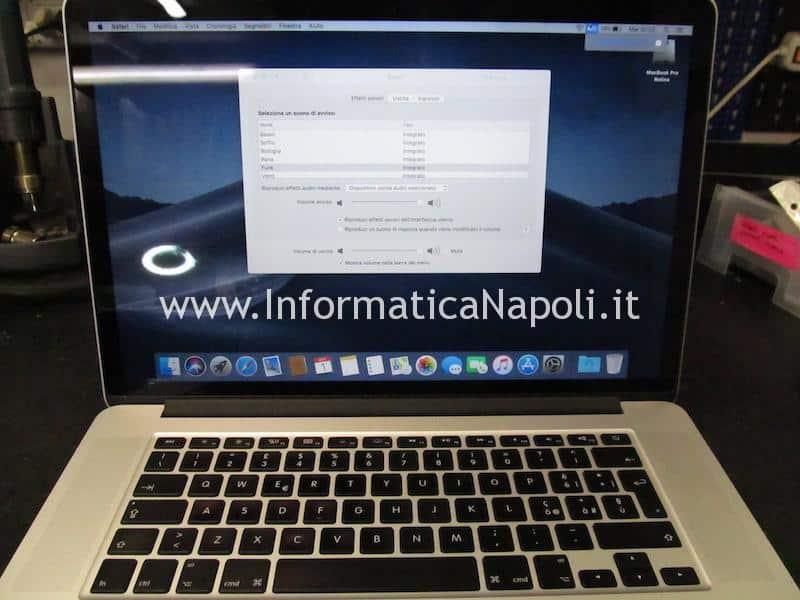 Problema ricarica batteria MacBook pro 15 retina A1398