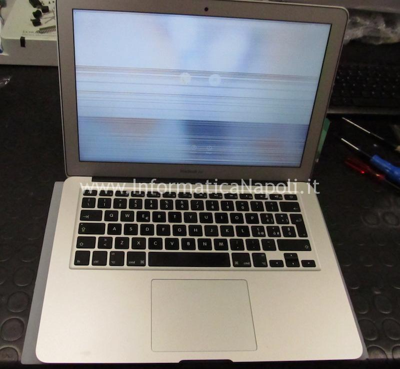 "come sostituire display schermo LCD Macbook Air 13.3 ""A1466 A1369 Display anno 2013 2014 2015 2016 2017"