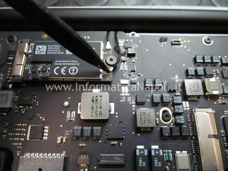 """cavi antenna macbook air display schermo LCD Macbook Air 13.3"""" A1466 A1369"""