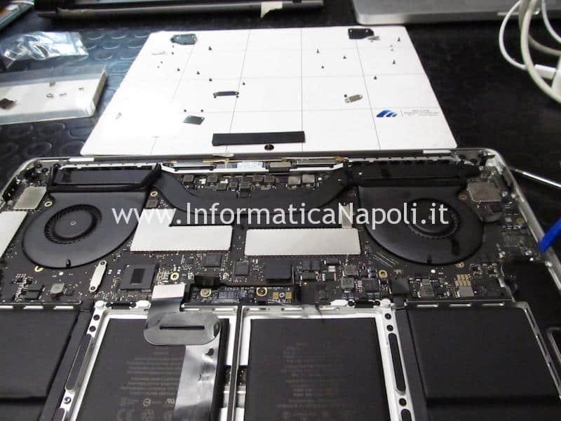 recupero disco ssd da MacBook Pro 15 13 2016 | 2017 TouchBar A1707 A1708 che non si accende