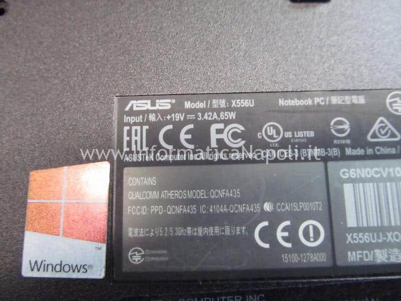 Asus X556U | F556U NO HDD X556Uj HDD BOARD v.2.0