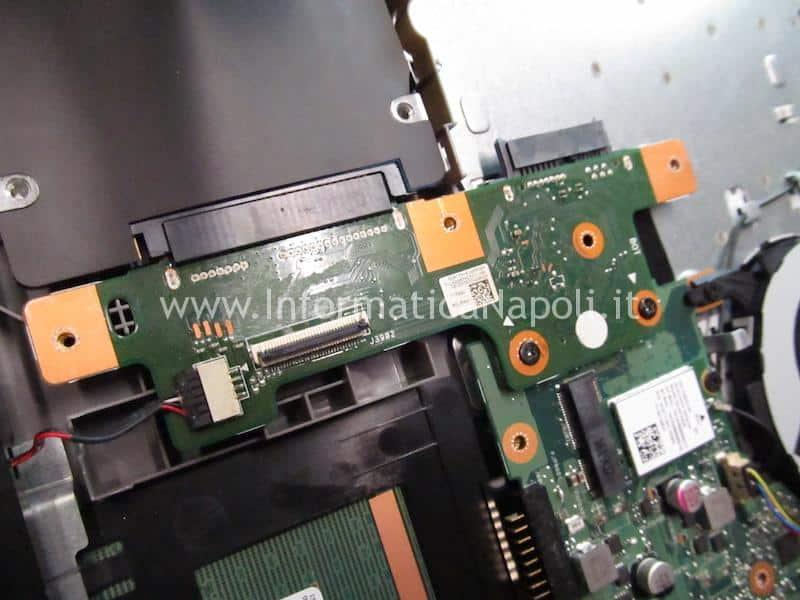 riparazione Asus X556U | F556U non vede disco X556Uj HDD BOARD v.2.0