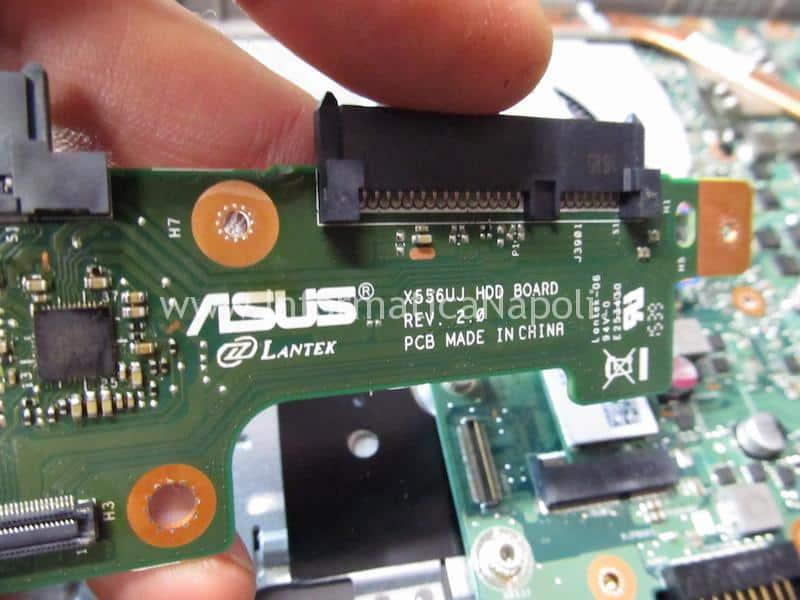 assistenza Asus X556U | F556U non vede hard disk X556Uj HDD BOARD v.2.0