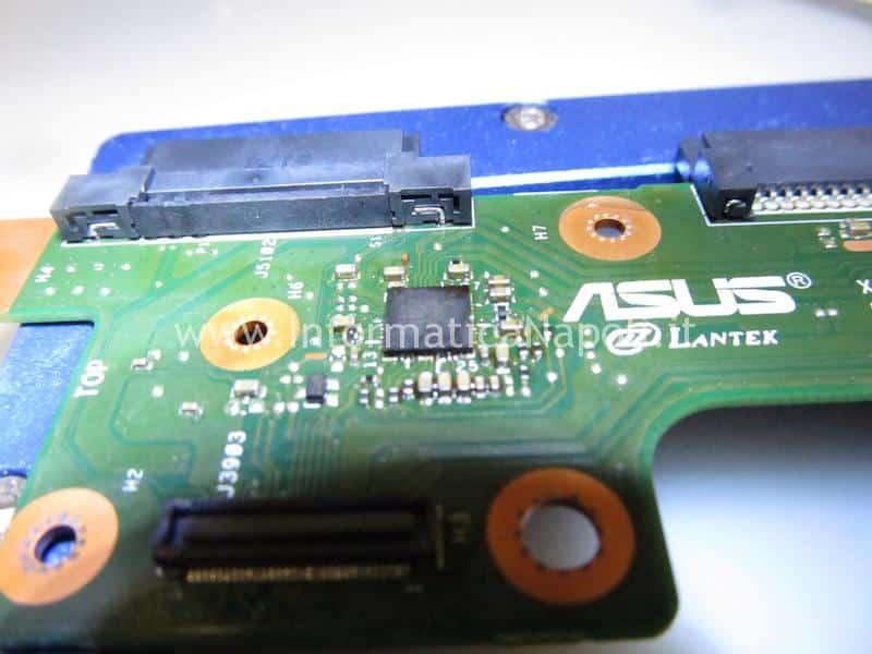 assistenza Asus X556U | F556U non vede hard disk no suoni audio X556Uj HDD BOARD v.2.0
