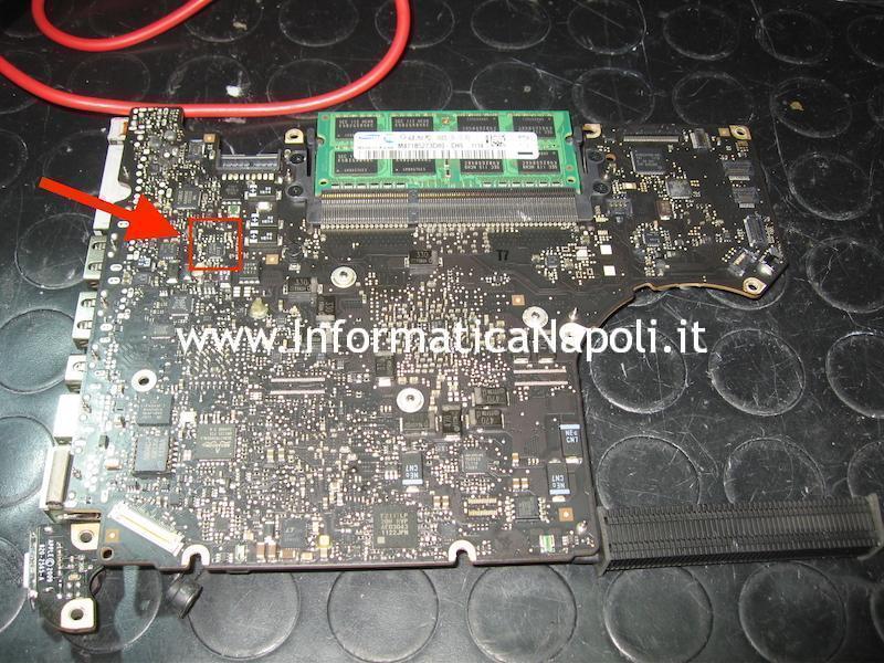 problemi di carica batteria macbook pro 13 a1278 2011