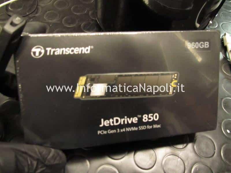 Upgrade SSD JetDrive 850 960gb Mac Pro late 2013 A1481 EMC 2630 PCIe Gen 3 x4 NVMe SSD