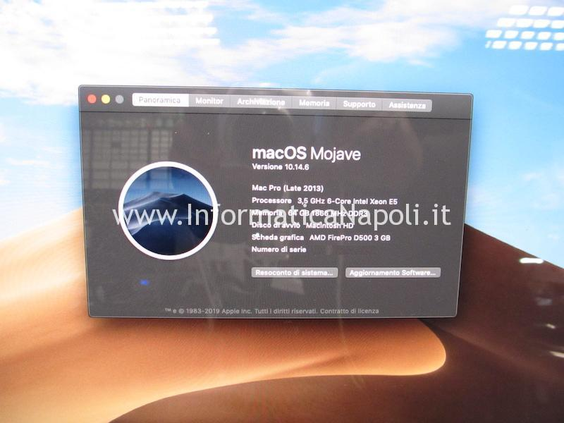 upgrade ssd macos disco flash SSD 1TB Mac Pro late 2013 A1