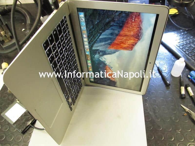 problema backlight schermo buio schermo nero MacBook air A1466 | A1369 | A1465 | A1370 risolto