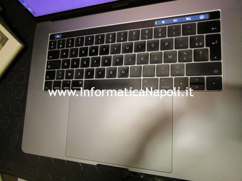 come cambiare tastiera italiana MacBook TouchBar A1707 A1706, non touchbar A1708 e MacBook 12 A1534