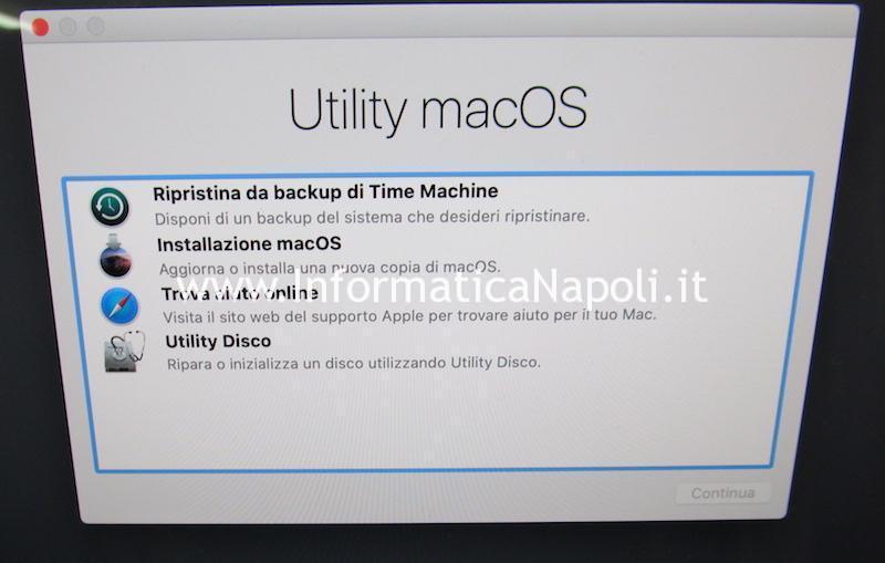 installare apple macos mojave catalina iMac con fusion disk
