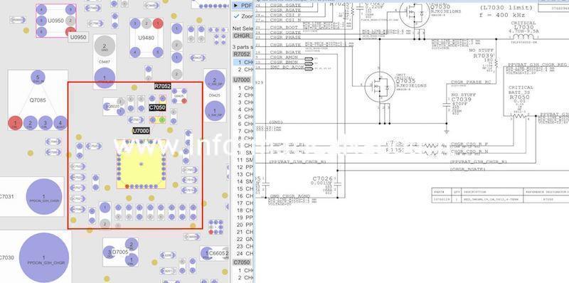 problemi sostituzione riparazione chip IC ricarica u7000 a1278 macbook pro 13