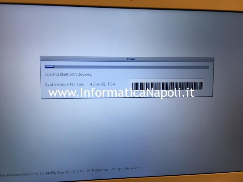 auto diagnosi AHT1 su Apple Mac MacBook iMac diagnostic gateway Mac resource inspector