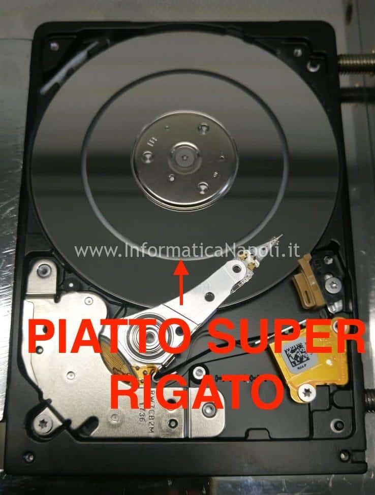 piatto hard disk distrutto 0