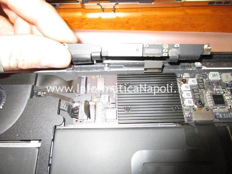 rimuovere schermo lcd MacBook Air retina 2018 | 2019 A1932 emc 3184 MacBookAir8,1 MacBookAir8,2