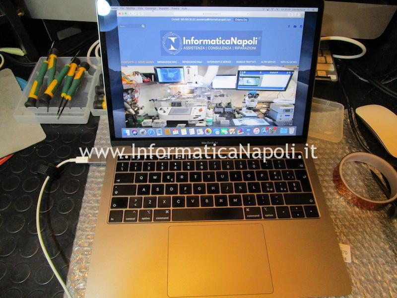 Apple MacBook Air retina 2018 | 2019 A1932 emc 3184 MacBookAir8,1 MacBookAir8,2 display sostituito riparato funzionante