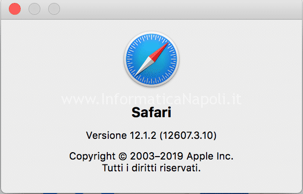 modificare safari italiano come risolvere