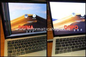 sostituzione display macbook air 13 retina 2018 2019
