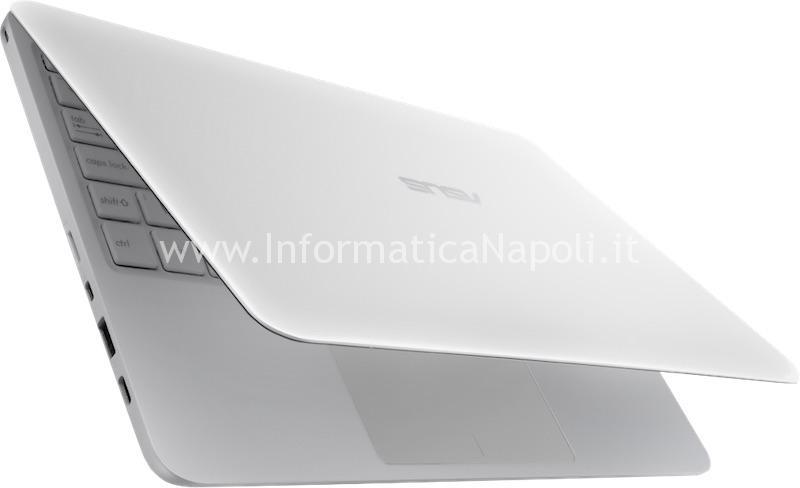 assistenza Asus VivoBook E200H problema accensione e caricamento batteria