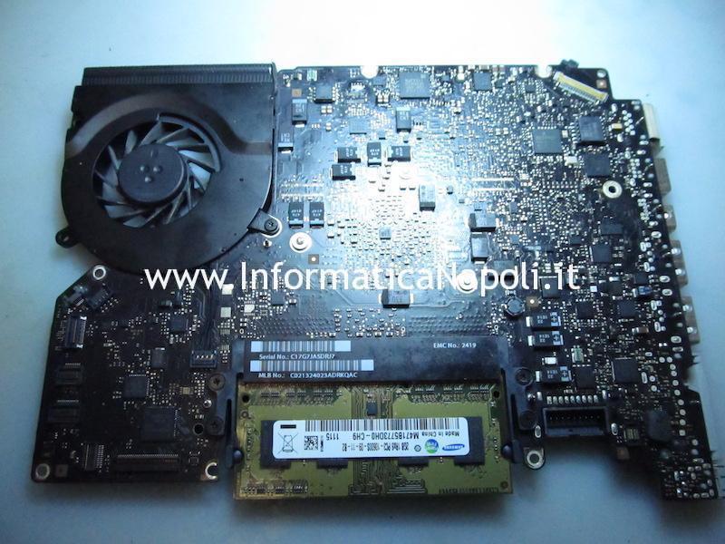 problema MacBook Pro 13 A1278 820-3115-B 820-2936-B 2011 rallenta e va a scatti se alimentato solo a batteria PBUS VOLTAGE SENSE