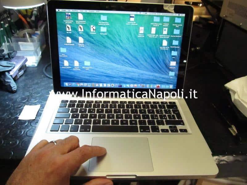 MacBook Pro 13 A1278 820-3115-B 820-2936-B 2011 rallenta a batteria riparato funzionante