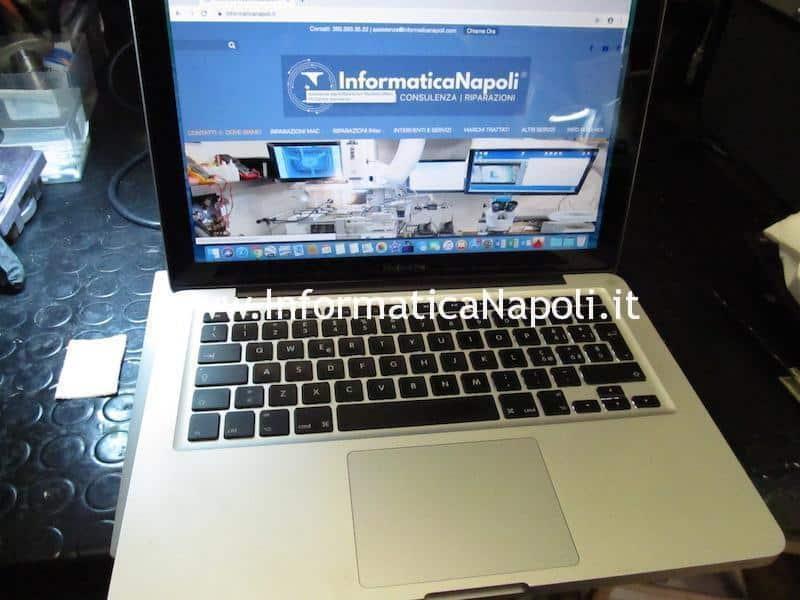 problema MacBook Pro 13 A1278 820-3115-B 820-2936-B 2011 rallenta a batteria riparato funzionante