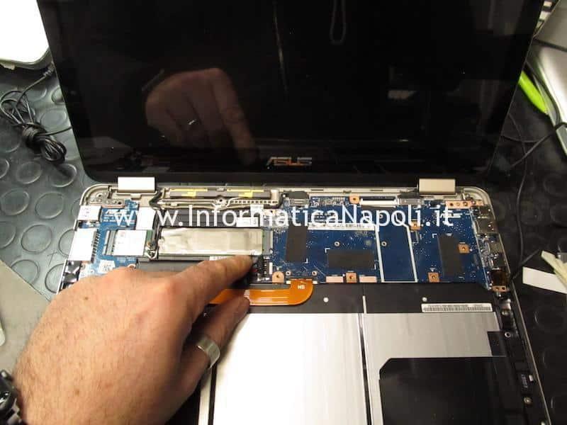 ripristino sostituzione bios Asus Flip ZenBook flip UX360 CA | CAK 2.1