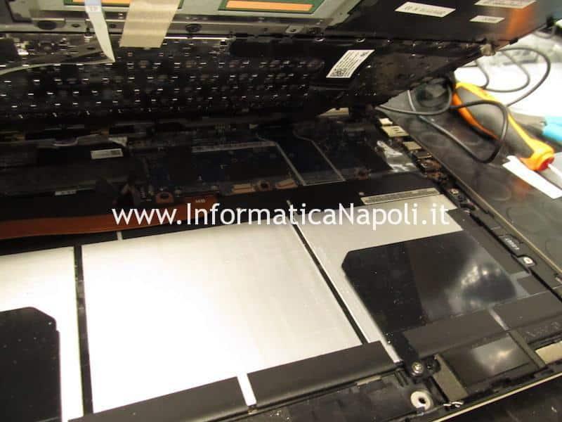 Aprire smontare tastiera batteria Asus ZenBook flip UX360 CA | CAK