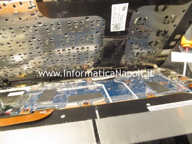 Aprire smontare tastiera Asus ZenBook flip UX360 CA | CAK