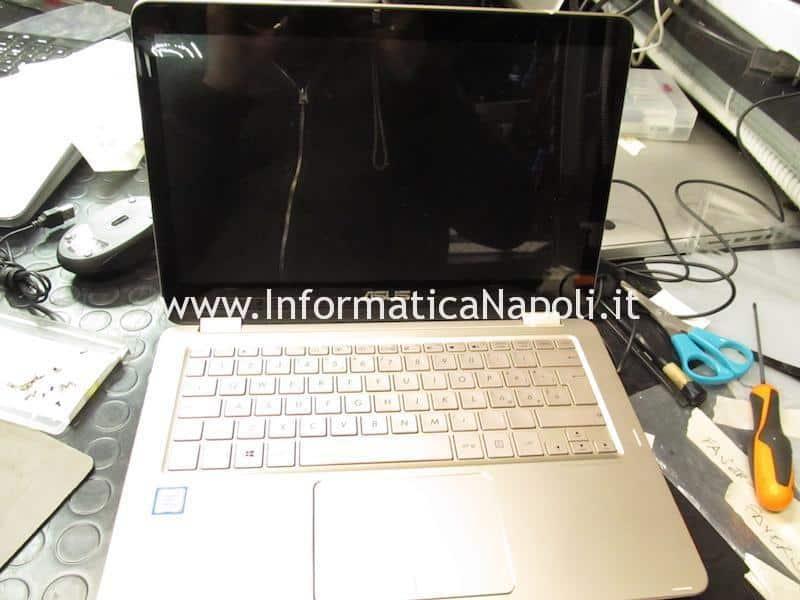Problema avvio Asus ZenBook flip UX360 CA | CAK non si accende