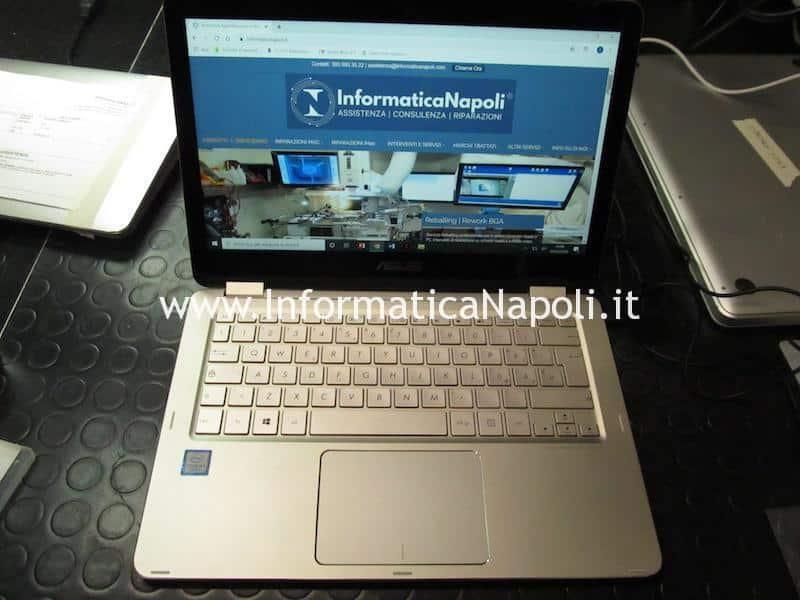 assistenza Asus ZenBook flip UX360 riparato funzionante