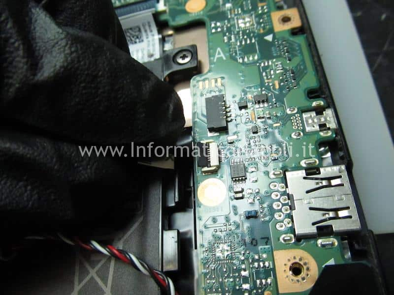 assistenza ripristino bios Asus VivoBook E200H