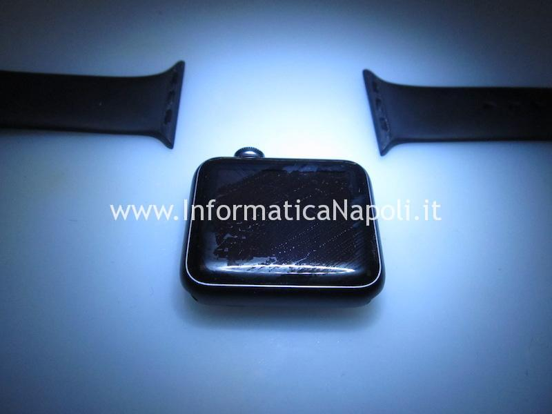 sostituire display Apple watch Serie 1 | 2 | 3 | 4 | 38mm 40mm 42mm 44mm GPS Cellular
