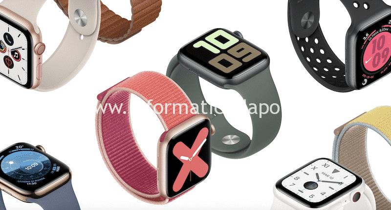 Riparazione Apple Watch Serie 1 | 2 | 3 | 4 | 38mm 40mm 42mm 44mm GPS Cellular