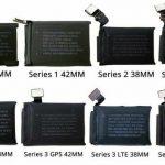 tipi batteria Apple watch Serie 1 | 2 | 3 | 4 | 38mm 40mm 42mm 44mm GPS Cellular