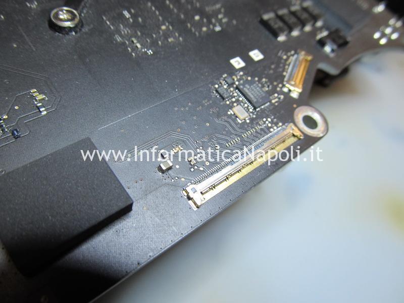 problema video scuro LVDS iMac 27 2014 2015 4k 5k 60 pin A1418 A1419 A2116 A2115