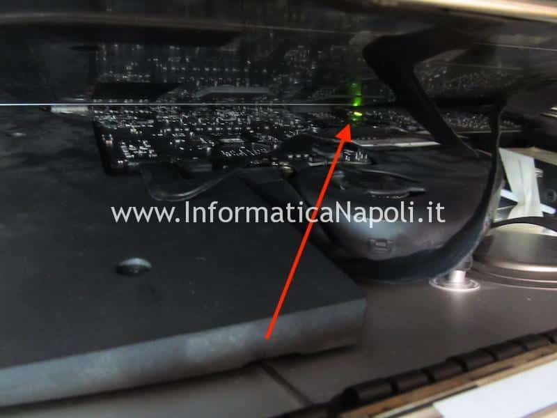connettore video display sostituito iMac 27 2014 2015 4k 5k 60 pin A1418 A1419 A2116 A2115 3 led