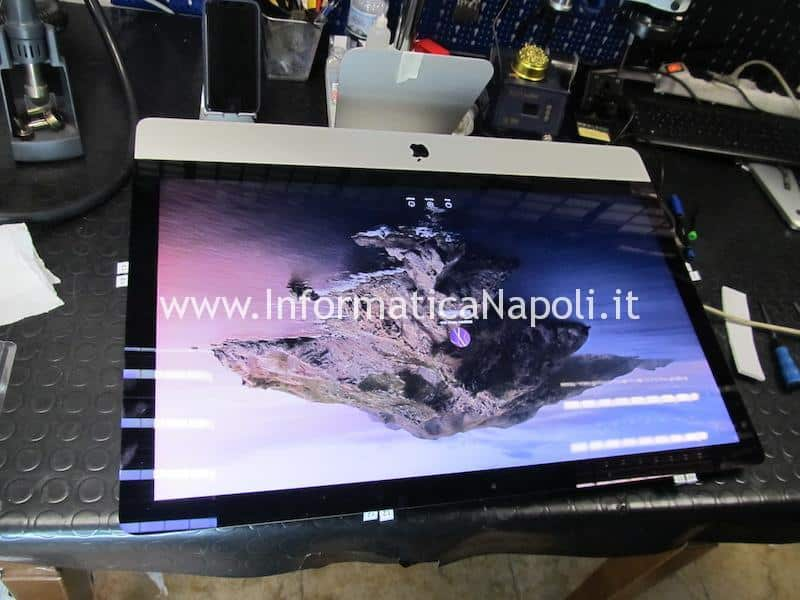 riparazione display connettore LVDS iMac 21.5 27 A1418 A1419 A2116 A2115 2012 2013 2014 2015 2016 2017 2018 2019