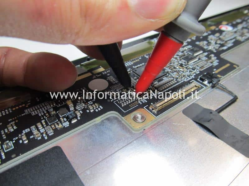 test apertura LVDS display iMac 21.5 27 A1418 A1419 2012 2013 2014 2k 5k