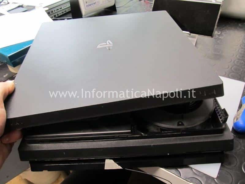 pulizia rumore eccessivo ventola PS4 Pro playstation 4