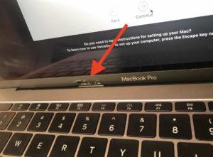 rottura sostituzione Macbook Logo Baffle Bezel frontalino