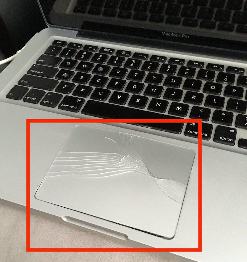 trackpad-danneggiato-macbook