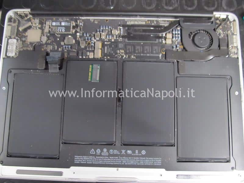 sostituzione SSD Apple con Crucial alternativo macbook air 13