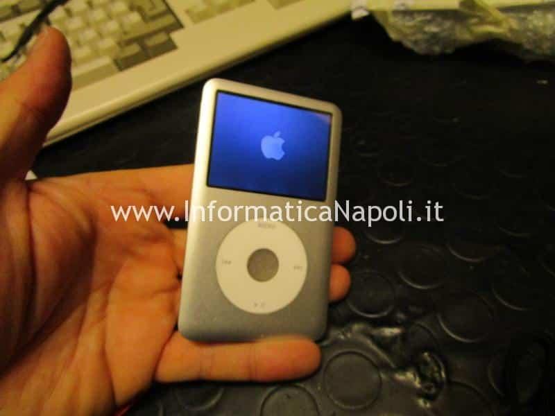 assistenza aggiornamento Upgrade SSD disco apple ipod classic 160 gb