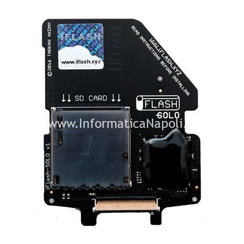iFlash upgrade ipod con SD card
