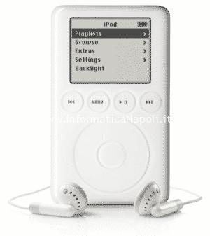 iPod con connettore dock 2003