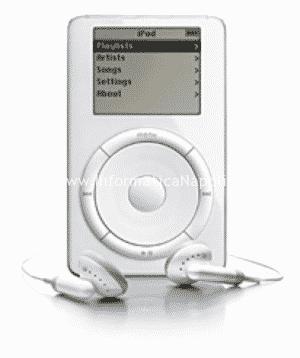 iPod con rotella rotante 2001 2002 2003